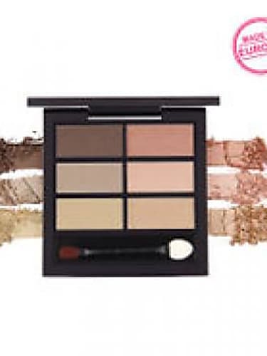 use a neutral shade on your entire eyelid. blend a darker shade of eye-