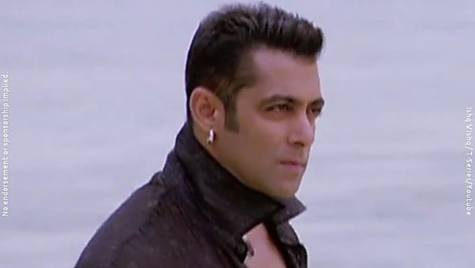 Salman Khan Black Loafer Matching With Look From Ishq Vishq Wanted