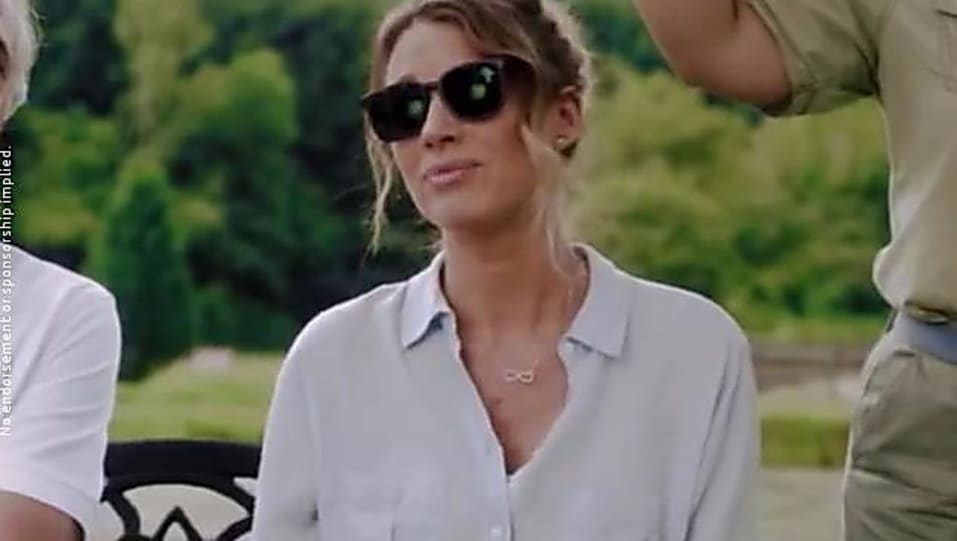 7b8b2ff4d15 Natalie Zea Black Tops look The Detour Tbs style inspiration