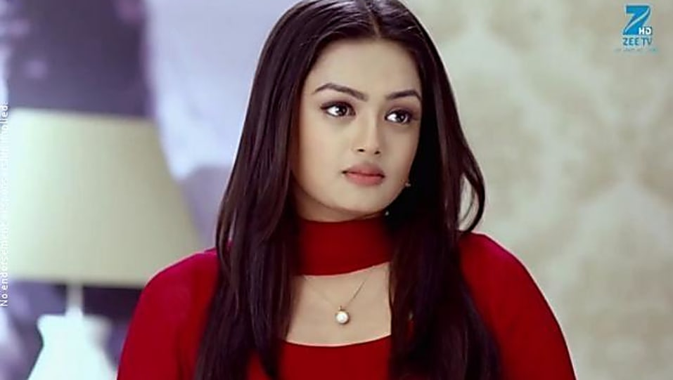 Sameeksha Jaiswal Red Kurta look Episode 98 style
