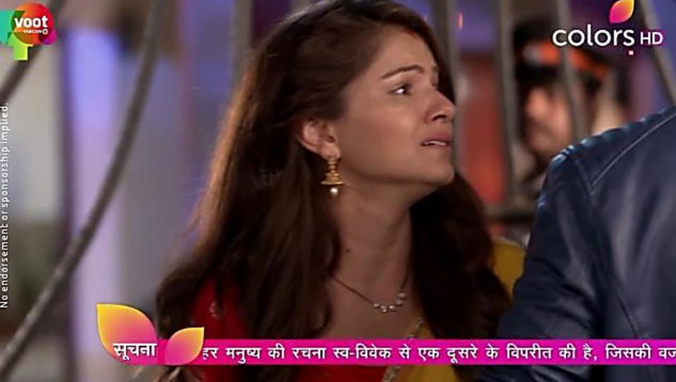 Rubina Dilaik Yellow Saree look, Episode 248 style, Shakti - Ek