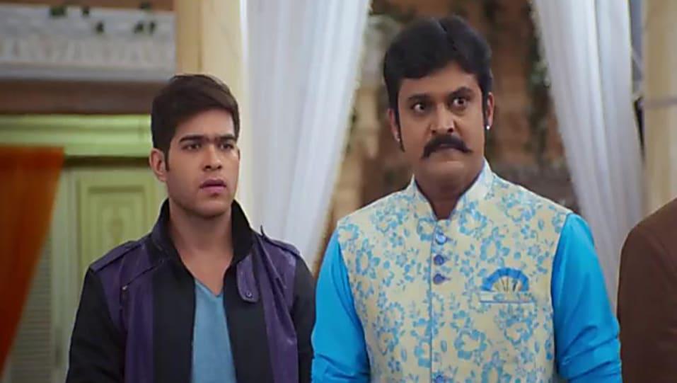 Archi Pratik Black Jacket and Black Jeans look, Episode 142 style