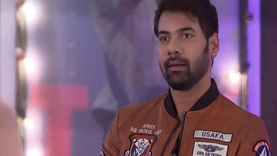 Shabbir Ahluwalia Brown Jacket and Blue Jeans look, Episode