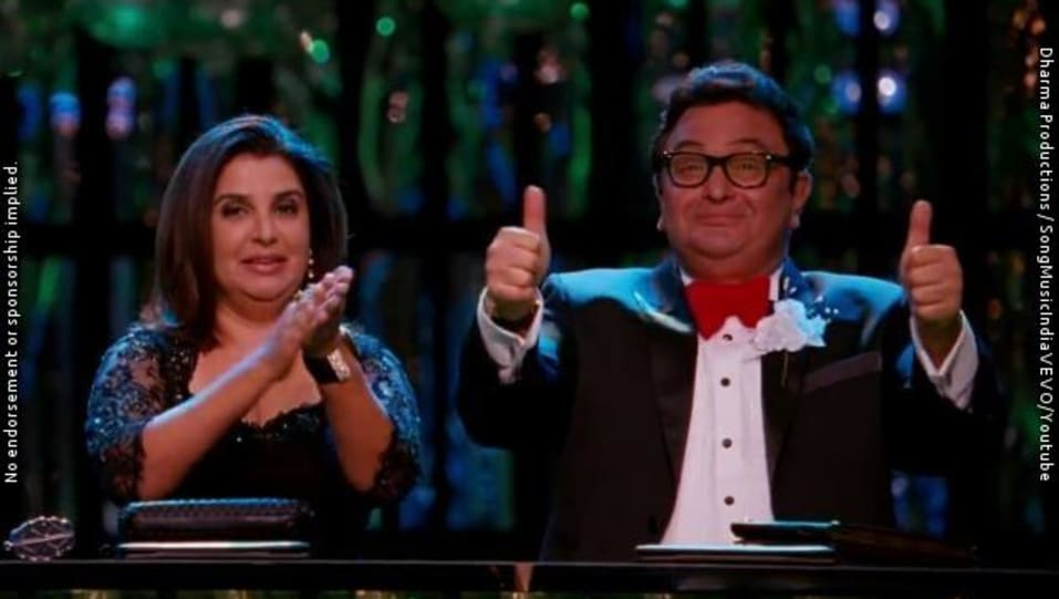 Community Wall of Rishi Kapoor in The Disco Song | Student Of The ...