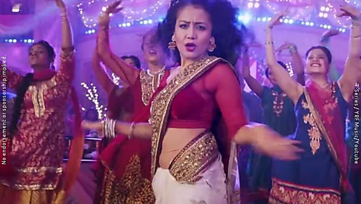 Neha Kakkar Celebrity Style In Wedding Da Season Hai Wedding Da Season Hai 2015 From Wedding Da Season Hai Charmboard