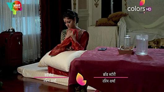 Rubina Dilaik Red Saree look, Episode 310 style, Shakti - Ek