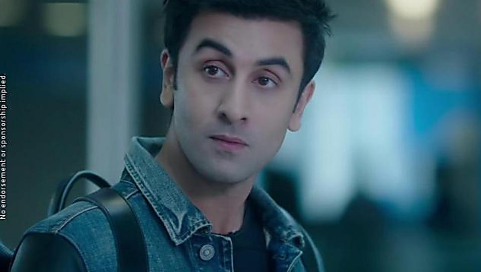 Ranbir Kapoor Grey T Shirt And Blue Jeans Look Ae Dil Hai Mushkil