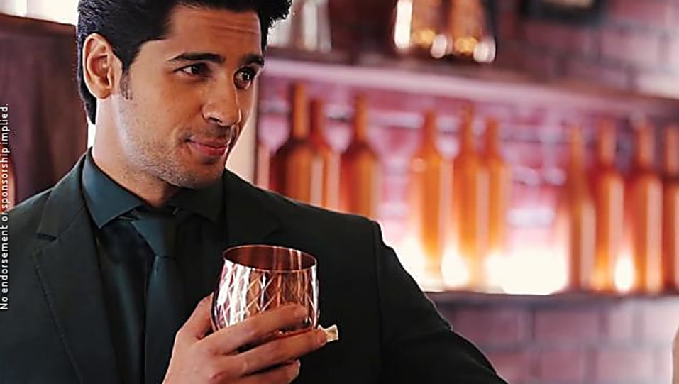 Sidharth Malhotra Grey Suits look Making Of Filmfare Award