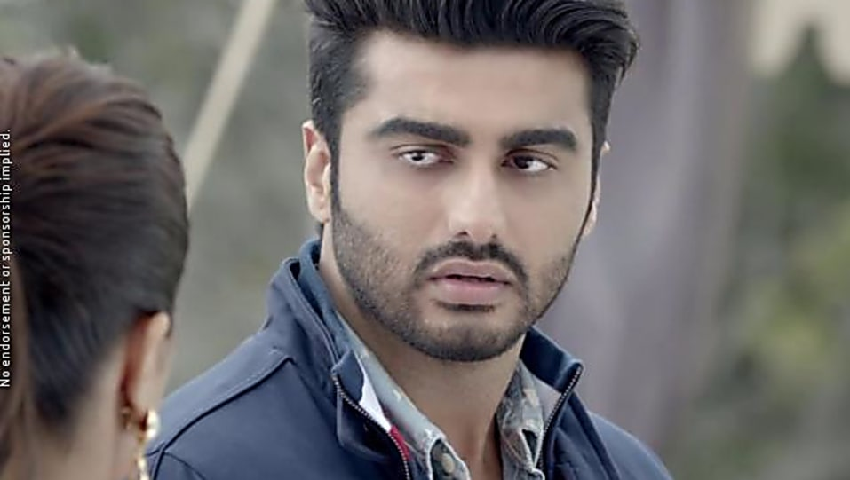 Arjun Kapoor Grey Jacket And Blue Jeans Look Official Trailer Style