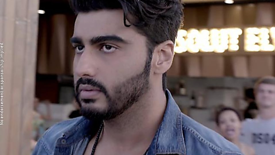 Arjun Kapoor Brown Sneakers Matching With Look From Lost Without You