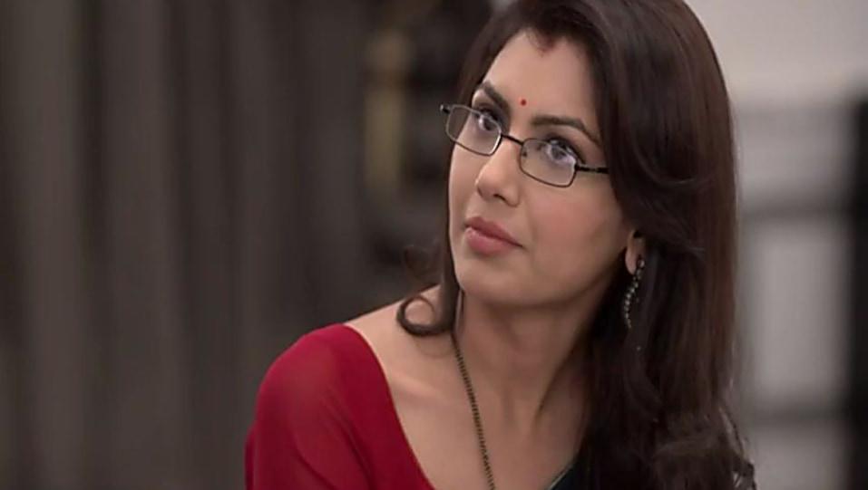 Sriti Jha Green Saree look Episode 1050 style inspiration   Kumkum