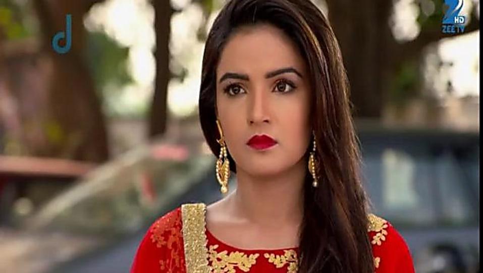 Jasmin Bhasin And Red Churidar Look Episode 52 Style Inspiration