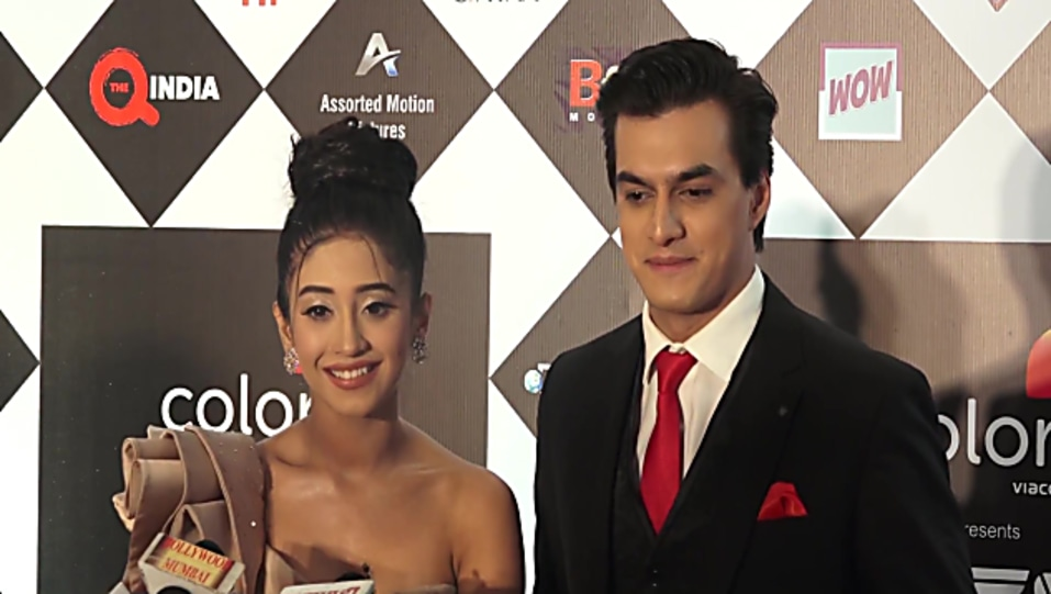 Shivangi Joshi Nude Gown look Colors Tv Hosts Iwmbuzz Tv Video