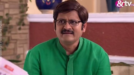 Shubhangi Atre Poorey Green Saree look Episode 551 style