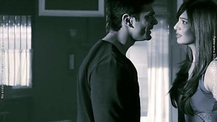 Karan Singh Grover Blue Shirt and Green Chinos look, Chand Aasmano