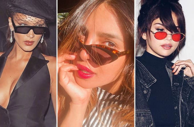 580476d8cf8c The Retro Sunglasses Everyone Is Wearing Right Now...